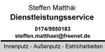 Dienstleistungsservice Steffen Matthäi